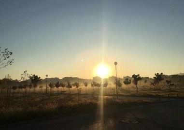 Утринна мъгла в Тракия