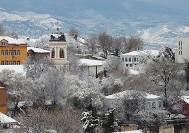 Зима в Пловдив. Кратка, но красива!